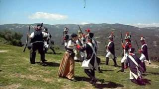 preview picture of video 'batalla de los franceses en Jimena de la Frontera'