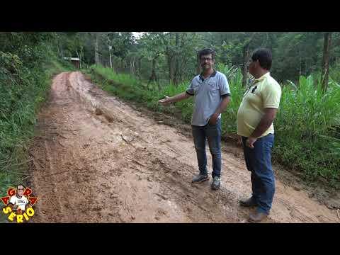Chuva acabou com a Estrada do Arnaldo Maria no Bairro dos Padeiros