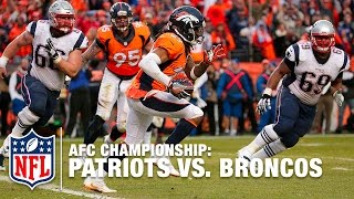 Broncos Stop Patriots 2pt Conversion & Advance to Super Bowl 50! | Patriots vs. Broncos | NFL