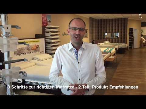 In 3 Schritten zur richtigen Matratze Teil 2 - Produktempfehlungen