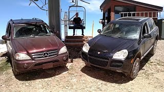 Can These Old Luxury SUVs Climb a Ski Mountain???