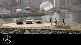 MercedesBenz Cars Middle East and XDubai defy the limits of gravity with
