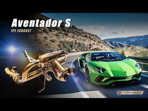 The iPE Titanium Exhaust Lamborghini Aventador S