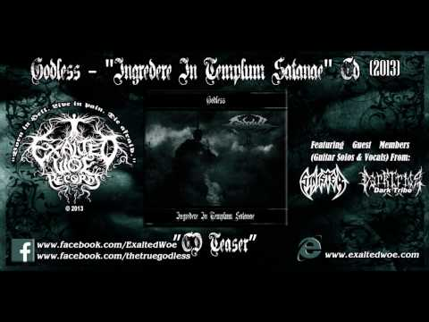 Godless - Ingredere In Templum Satanae Album Teaser 2013