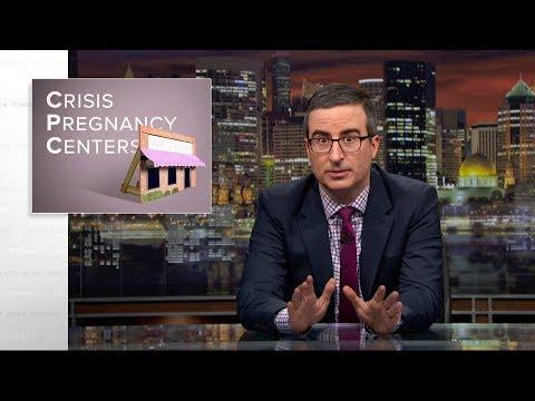 Těhotenská krizová centra - Last Week Tonight