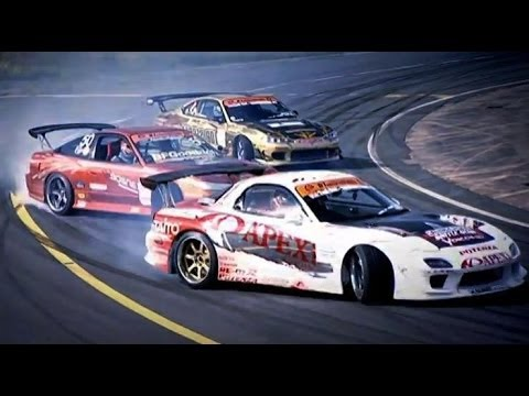 Powerslides with the D1 Drifters | Top Gear | Series 6 | BBC