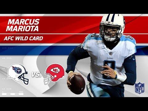 Marcus Mariota Leads 18-Point Comeback vs. KC! | Titans vs. Chiefs | Wild Card Player HLs