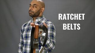 Ratchet Belt Roundup Featuring Kore, Anson, Mission And SlideBelts