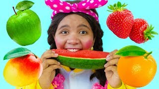 Johny Johny Yes Papa, Learn Fruits for Kids with Song Nursery Rhymes