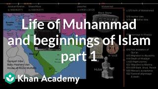 Life of Muhammad and beginnings of Islam part 1  | World History | Khan Academy