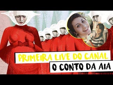 O conto da aia: PRIMEIRA LIVE DO LITERATURE-SE (com LivrIsa!)