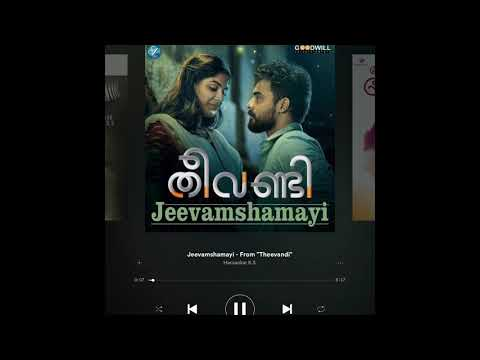 Theevandi | Jeevamshamayi | Spotify Song |