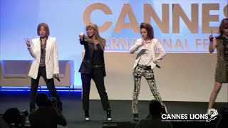 2NE1 - 'Can't Nobody' Live at Cannes Lions 2012