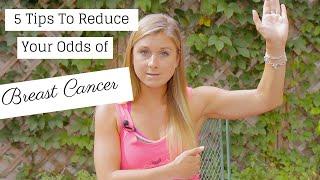 5 Tips to Help Prevent Breast Cancer #WarriorsInPink