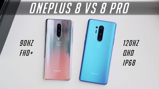 COMPARISON OF ONEPLUS 8 PRO VS ONEPLUS 8. ULTRA PREMIUM, ULTRA PRIOR