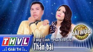 THVL l Cặp đôi hài hước - Tập 4 [4]: Thần bài - Tùng Linh, Mai Yến Chi