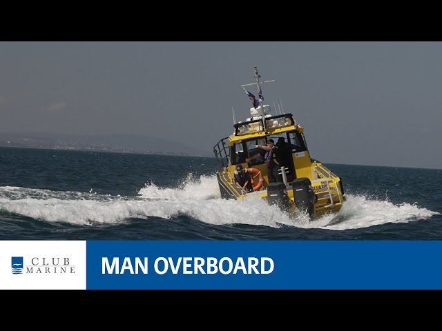 For more boating tips visit https://www.clubmarine.com.au/exploreboating Man overboard