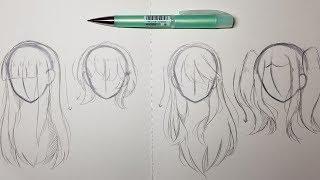 4 Ways To Draw Hair
