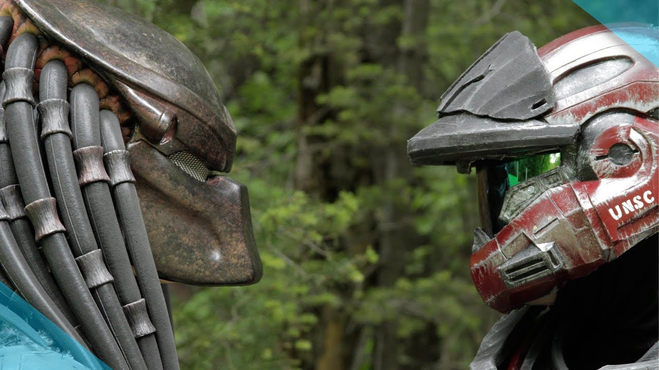 I Get The Feeling Halo Vs Predator Isn't Meant To Determine A Winner