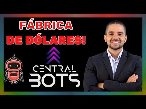 Conhea a CENTRAL BOTS | Central Bots d Dinheiro? Central Bots FUNCIONA? Fernando Augusto Bots