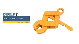 Beam Tongs - 1 Ton – 20 – 100 mm SKU #D1774282