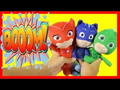 PJ Masks Learn Colors Game - Surprise Toys , Masha and the Bear, Spiderman, Mashems, Kinder