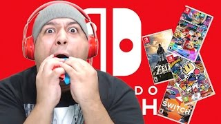 LET'S PLAY SOME F#%KING NINTENDO SWITCH B#TCH!! [ 3 SWITCH GAMES! ]