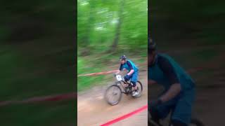 National Gravity Qualifier at ETSU DH Course in 2013