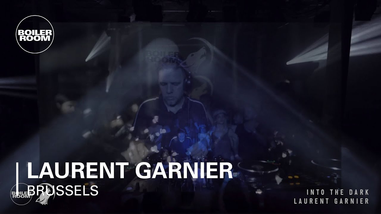 Laurent Garnier - Live @ Boiler Room x Eristoff Into The Dark, Brussels 2017