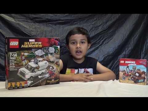LEGO Spiderman Contest Winner Reveal (видео)