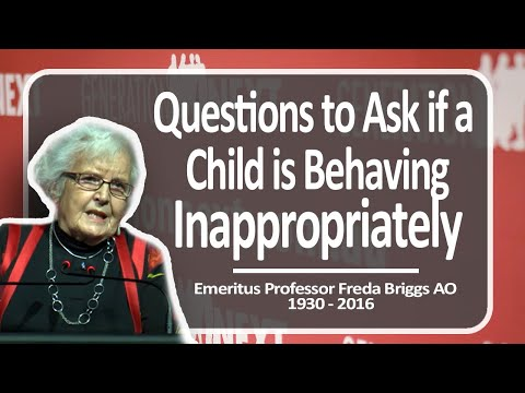 Questions to Ask if a Child is Behaving Inappropriately