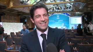 Frederic De Narp, Harry Winston - Exclusive Interview At Zermatt Summit 2012