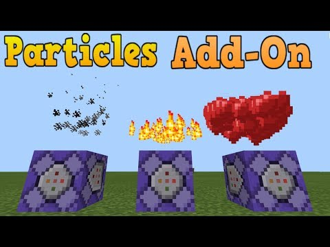 Particles Command Bedrock Edition Minecraft Project