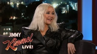 Christina Aguilera on Touring with Her Kids - Video Youtube