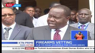 FIREARMS VETTING: At least 36 gun licenses revoked in Kenya