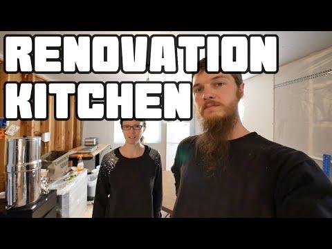 Makeshift Kitchen Setup and Tour | Home Renovation #40