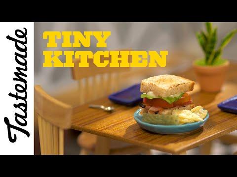Tiny BLT Sandwich | Tiny Kitchen
