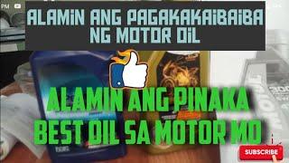 Motor Oil Paano Pumili