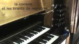 preview picture of video 'orgue Lescar (F) - choral de J.S. BACH'