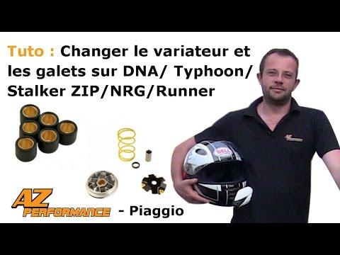 Changer le variateur et/ou les galets de son Typhoon / Stalker / Zip / ...