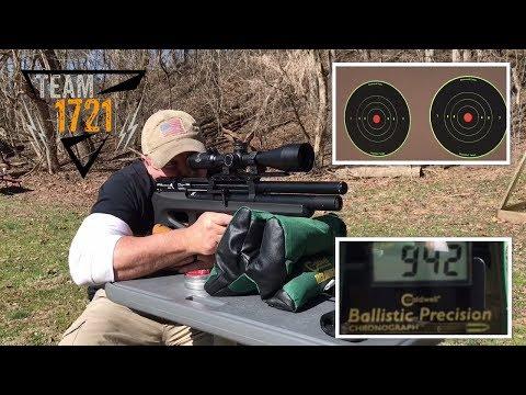 REVIEW: FX Dreamline Airgun  22 - Dropping 100 Yard Targets
