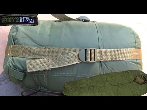 Military Sleeping Bag Recon Gen II Lightweight Hiking