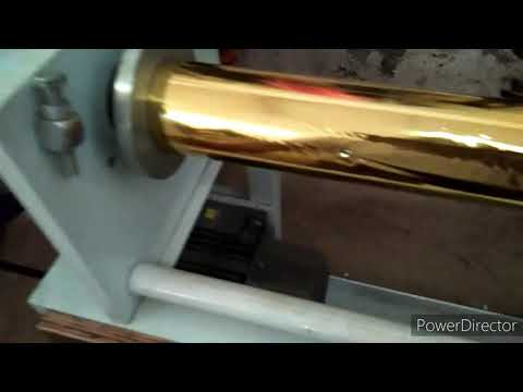 Fabricated Foil Cutting Machine