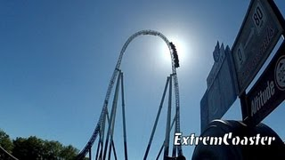 preview picture of video 'Stealth - Roller Coaster - Thorpe Park 2013 - (HD)'