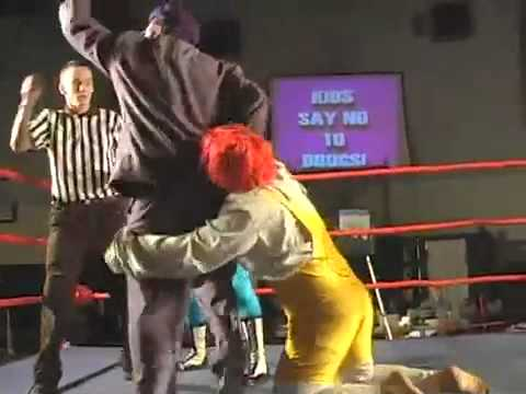 Download Robere Shields W/Mr Ooh LaLa VS Guy W/ Red Hair - ECWA HD Mp4 3GP Video and MP3