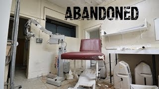 Abandoned Derbyshire Royal infirmary Hospital - Full of equipment! Shame on the NHS!