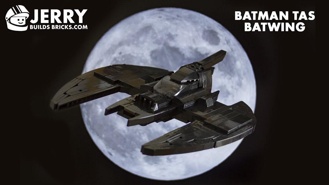 LEGO TAS Batwing instructions (MOC #80)