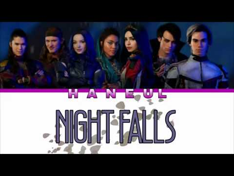 Descendants 3 Cast - Night Falls (from Descendants 3) Lyrics