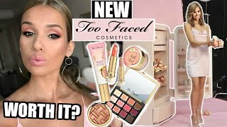 NEW Too Faced PEACHES & CREAM Matte Collection! (FIRST LOOK!)