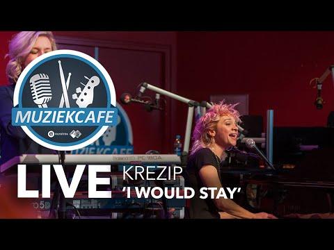 Krezip - 'I Would Stay' live bij Muziekcafé